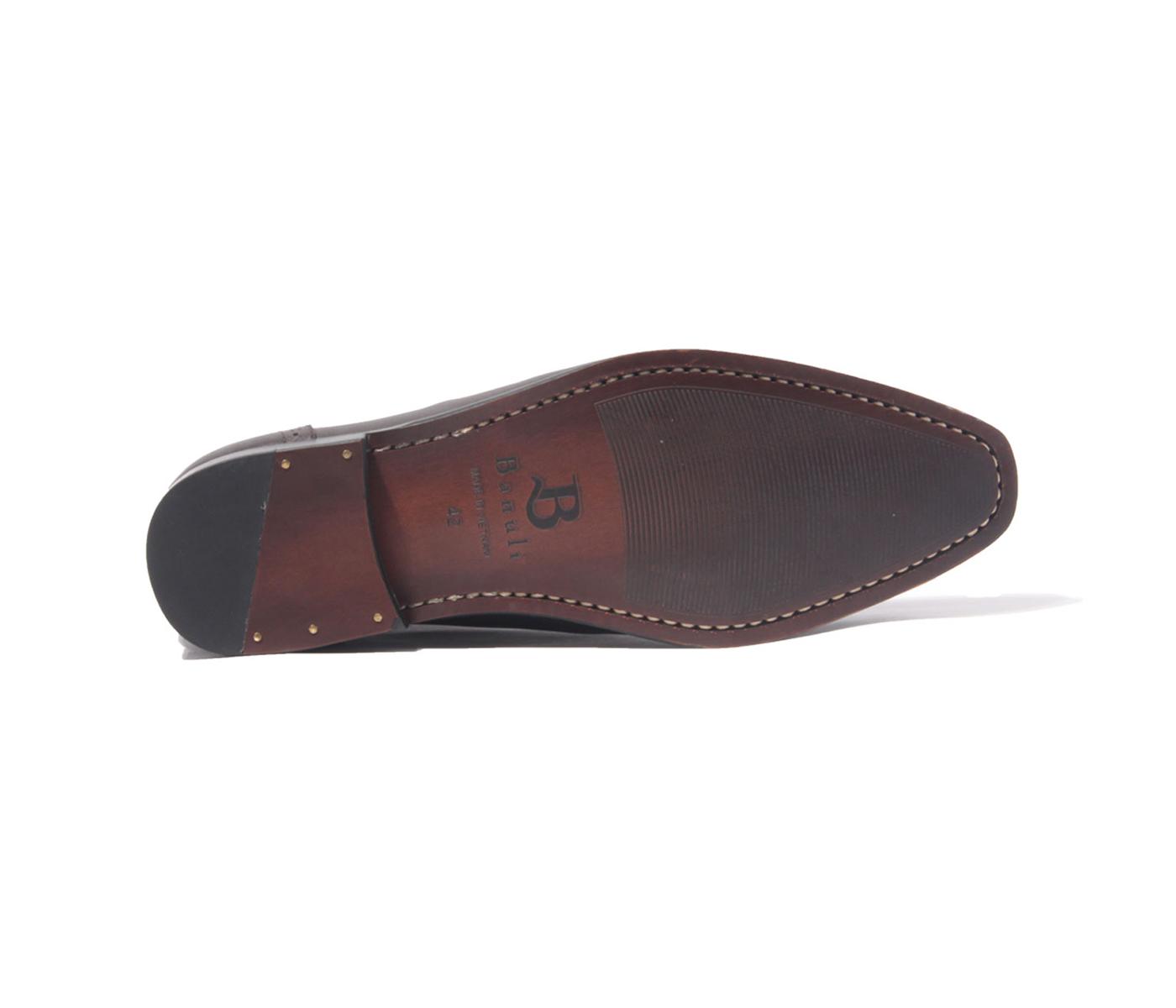 Giày Tây Nam Cao Cấp Wholecut Patina H1WH1M0